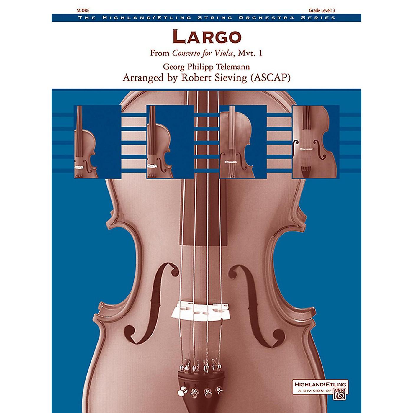 Alfred Largo String Orchestra Grade 3 thumbnail