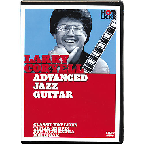 Hot Licks Larry Coryell Advanced Jazz Guitar DVD-thumbnail