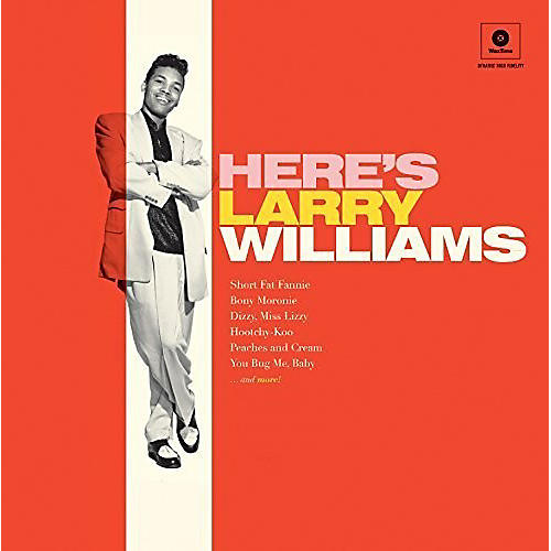 Alliance Larry Williams - Here's Larry Williams + 2 Bonus Tracks thumbnail
