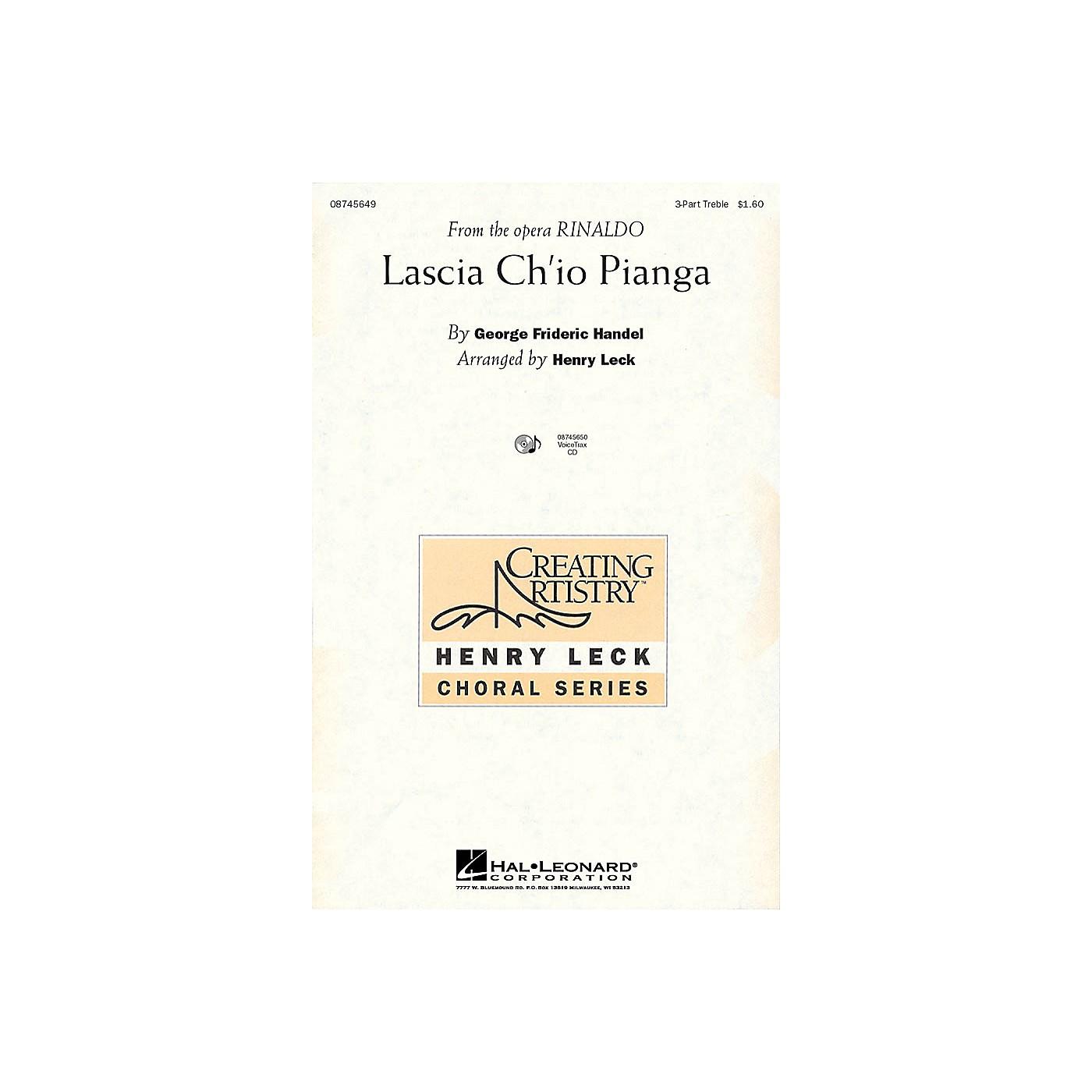 Hal Leonard Lascia Ch'io Pianga (from the opera Rinaldo) 3 Part Treble thumbnail