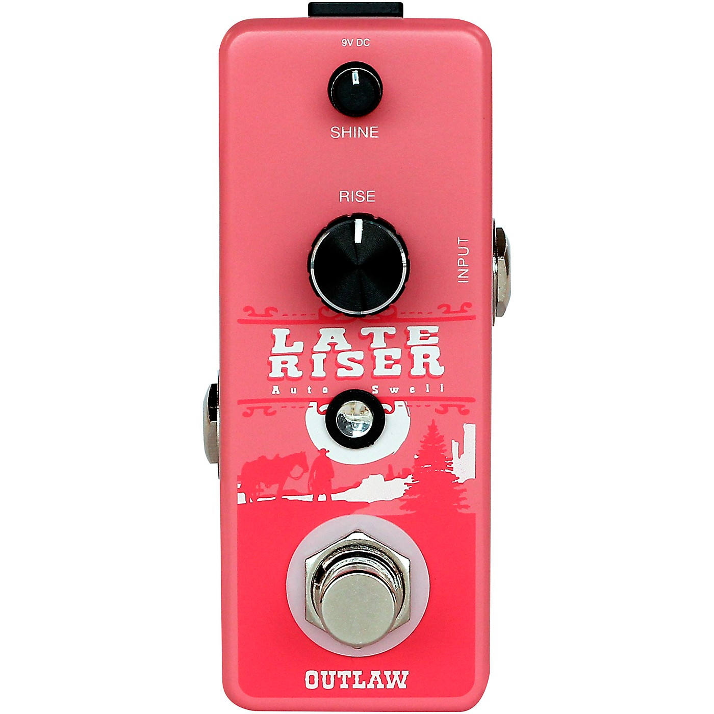 Outlaw Effects Late Riser Volume Swell Effects Pedal thumbnail