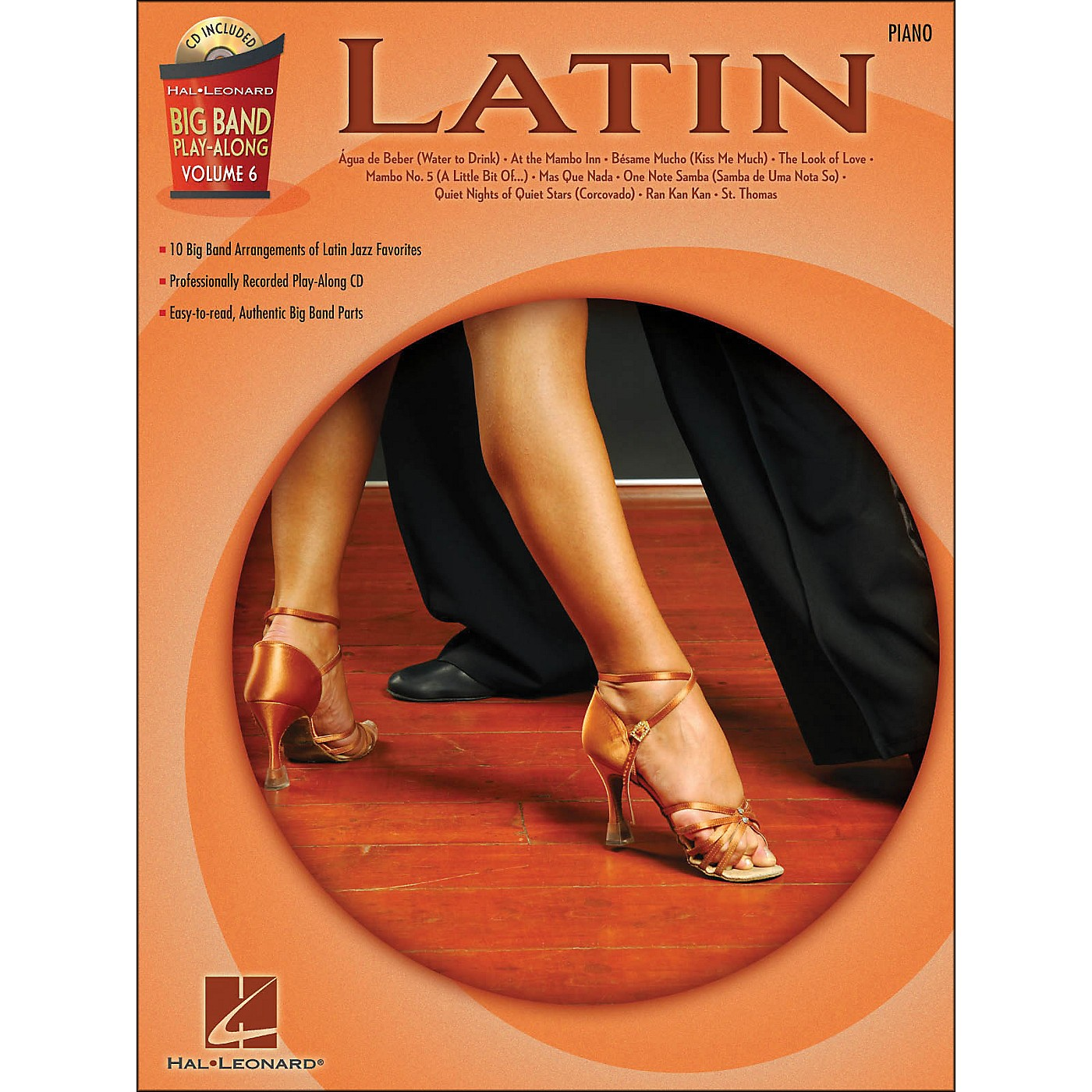Hal Leonard Latin - Big Band Play-Along Vol. 6 Piano thumbnail