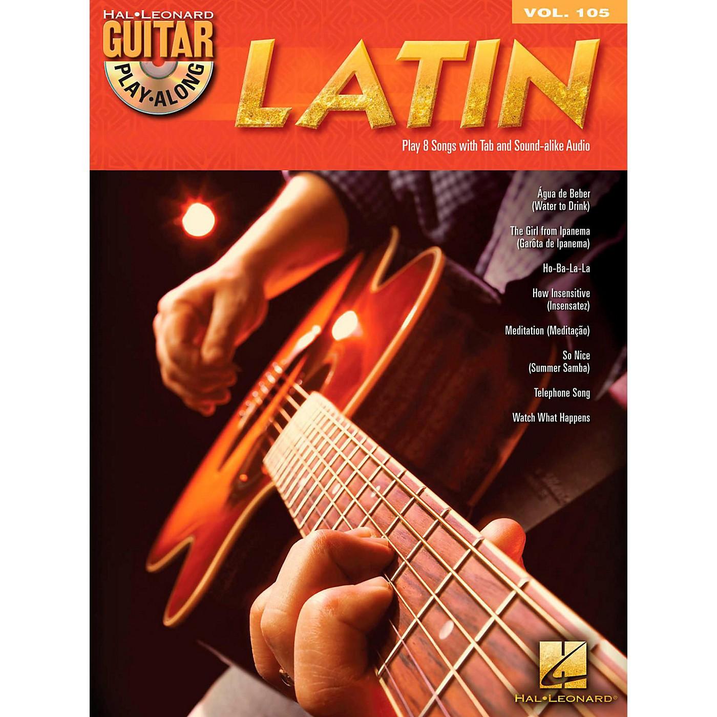 Hal Leonard Latin - Guitar Play-Along Volume 105 Book/CD thumbnail
