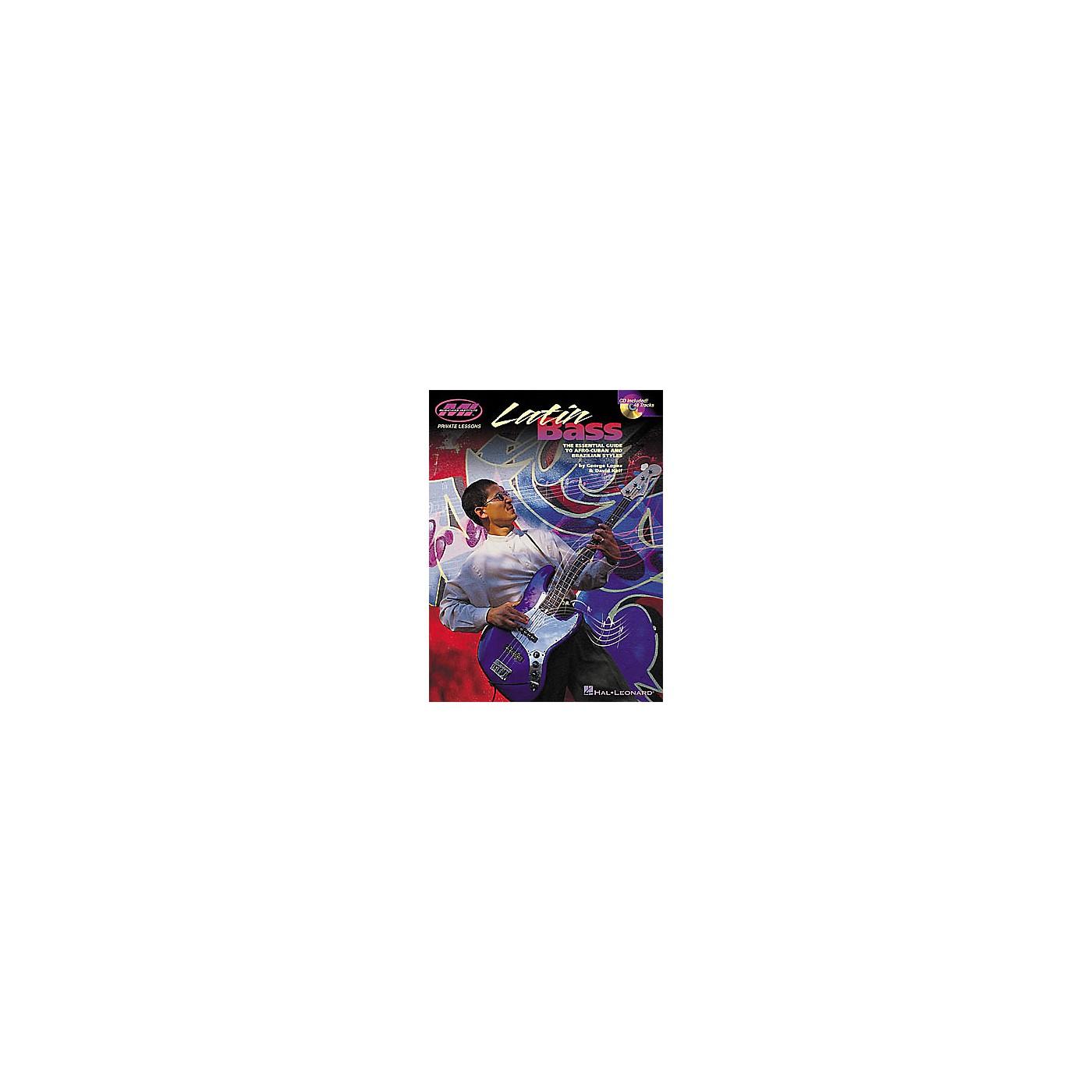 Hal Leonard Latin Bass Book/CD thumbnail