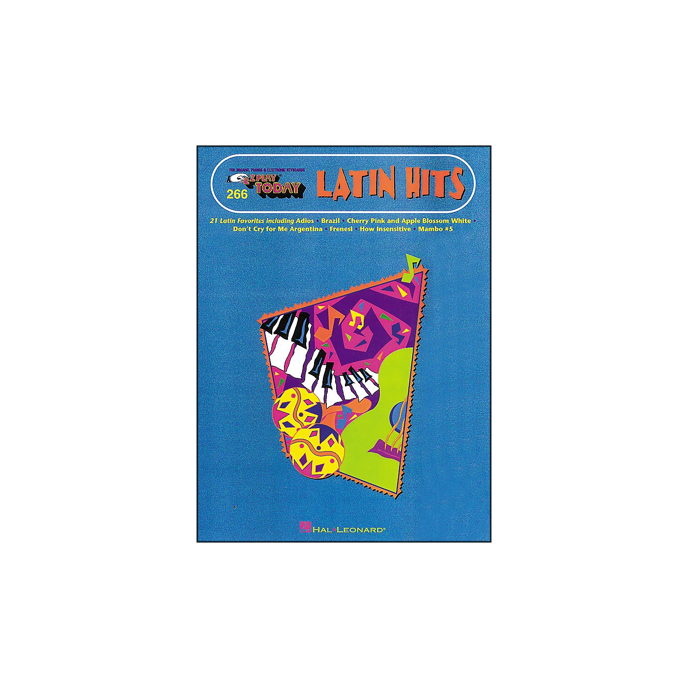 Hal Leonard Latin Hits E-Z Play 266 thumbnail