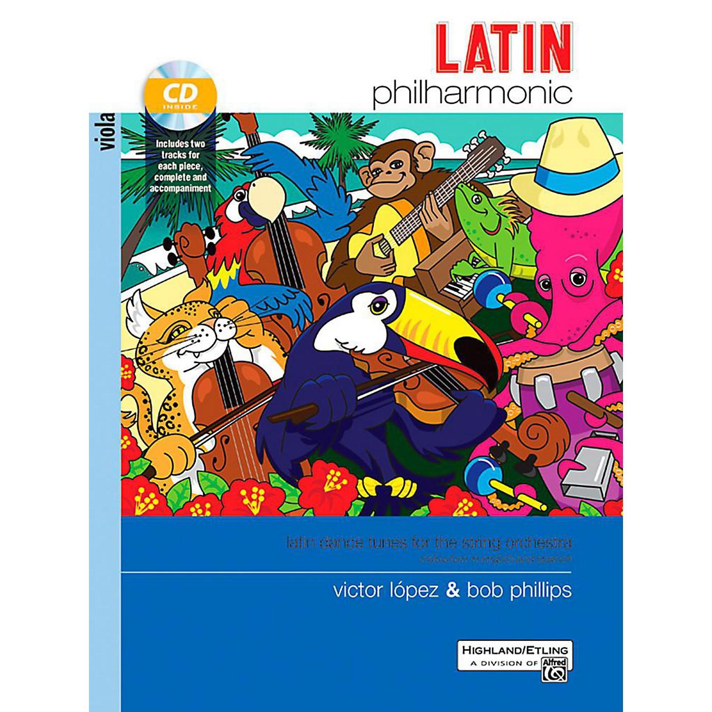 Alfred Latin Philharmonic - Viola Book & CD thumbnail
