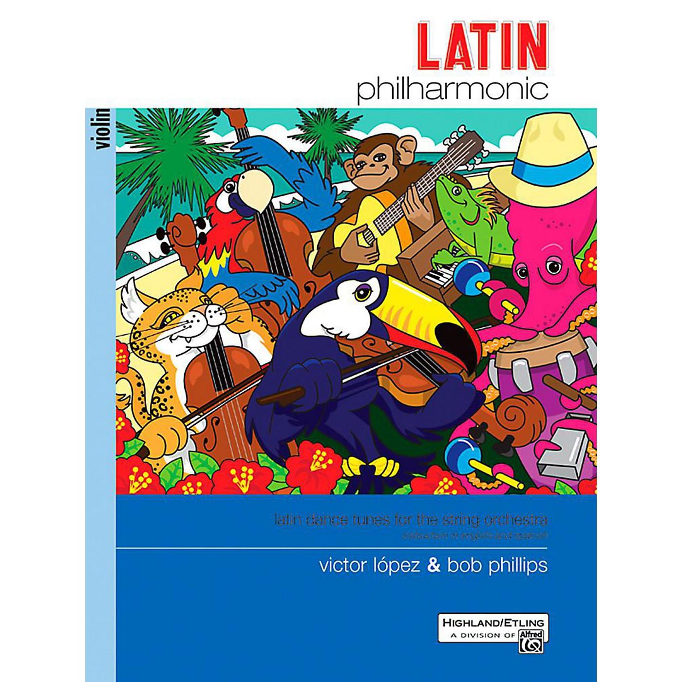 Alfred Latin Philharmonic - Violin Book thumbnail