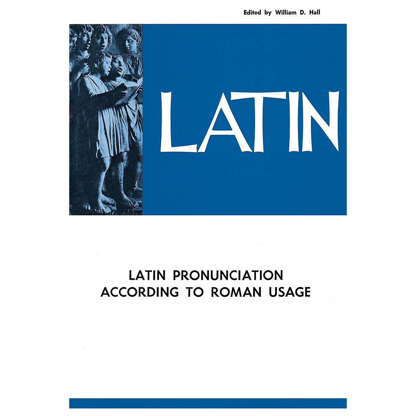 National Music Publishers Latin Pronunciation According to Roman Usage Book thumbnail