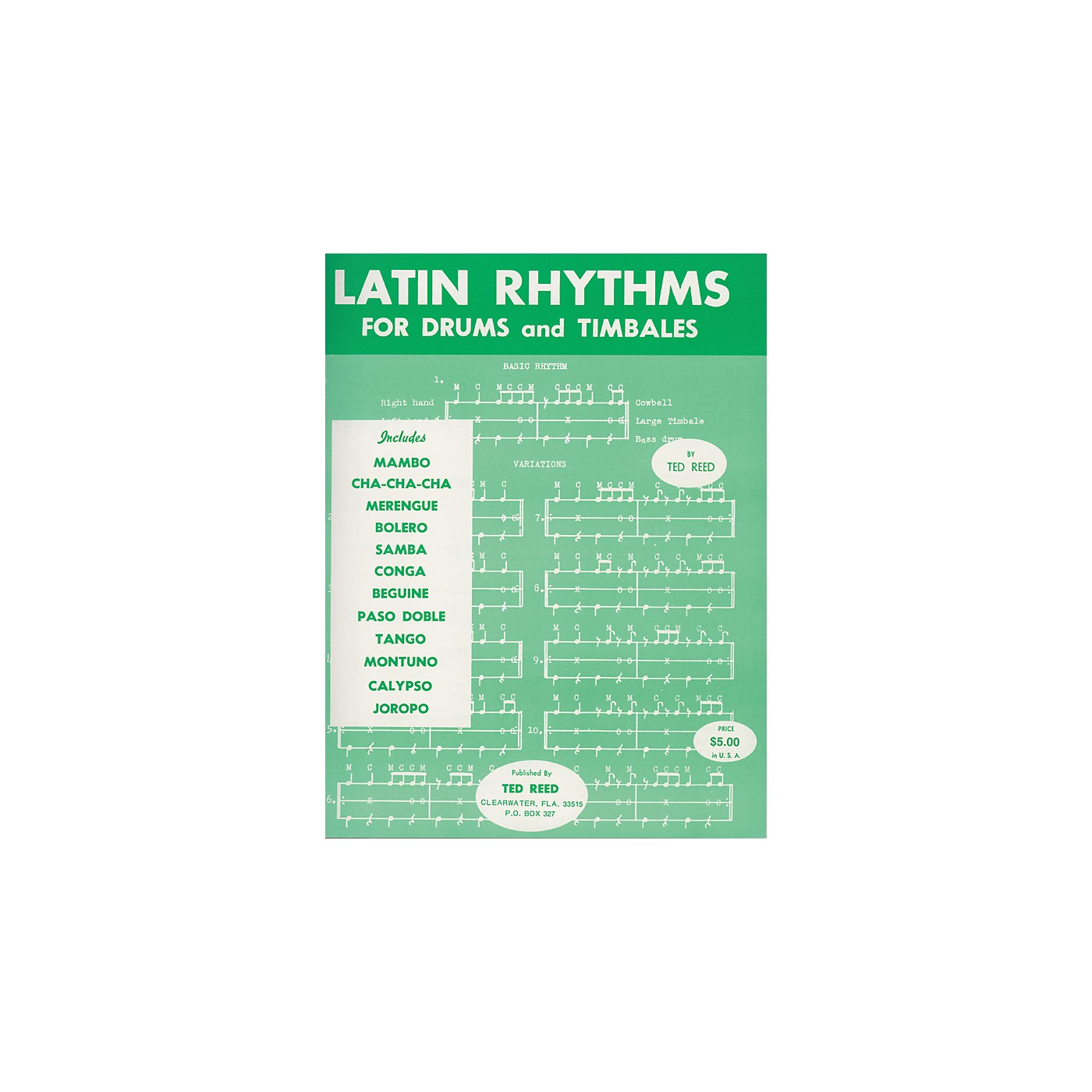 Alfred Latin Rhythms for Drums and Timbales Book thumbnail