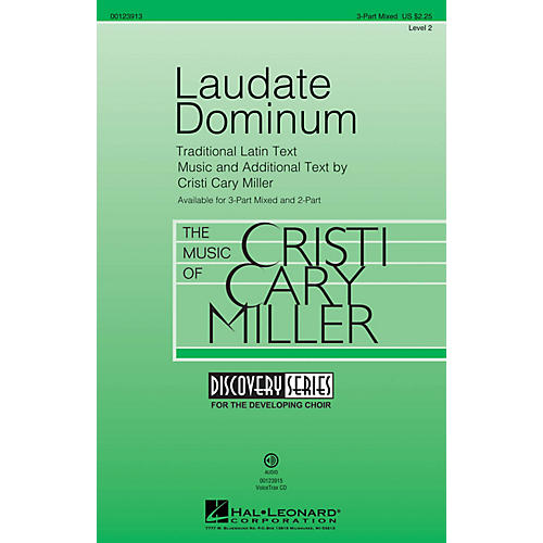Hal Leonard Laudate Dominum (Discovery Level 2) VoiceTrax CD Composed by Cristi Cary Miller thumbnail