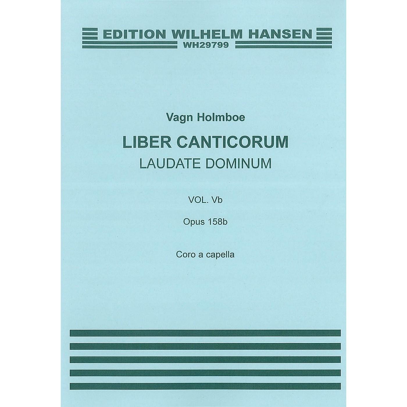 Wilhelm Hansen Laudate Dominum (Op.158b) SATB thumbnail