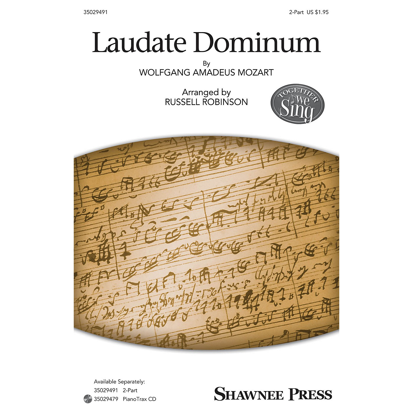 Shawnee Press Laudate Dominum (Together We Sing Series) 2-Part arranged by Russell Robinson thumbnail