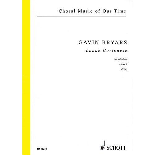 Schott Laude Cortonese, Vol. 5 (Male Choir Choral Score) Composed by Gavin Bryars thumbnail
