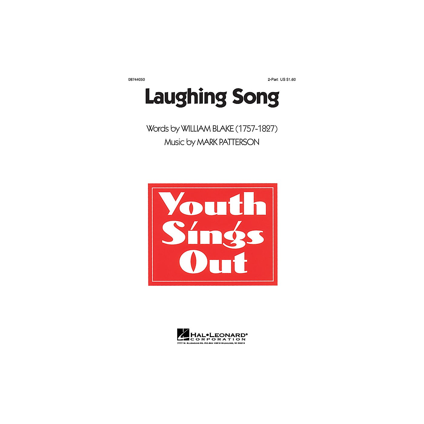 Hal Leonard Laughing Song 2-Part composed by Mark Patterson thumbnail