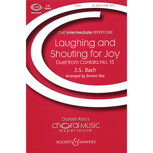 Boosey and Hawkes Laughing and Shouting for Joy (Duet from Cantata No. 15) 2-Part composed by Bach arranged by Doreen Rao thumbnail