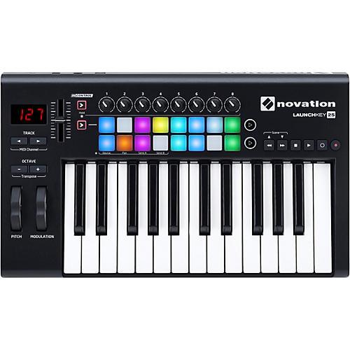 Novation Launchkey 25 MIDI Controller thumbnail