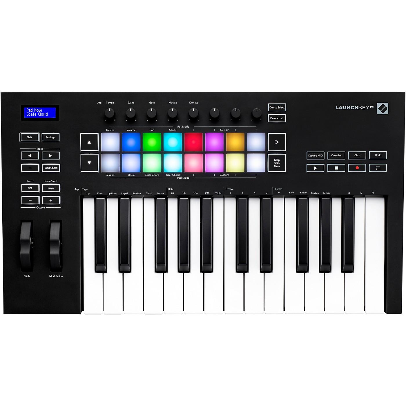 Novation Launchkey 25 [MK3] Keyboard Controller thumbnail