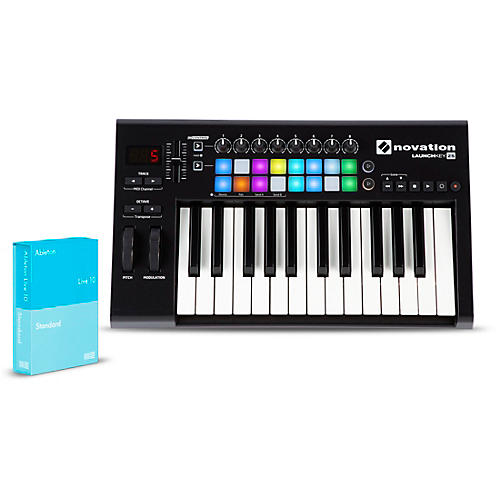 Novation Launchkey 25 with Ableton Live 10 Standard thumbnail