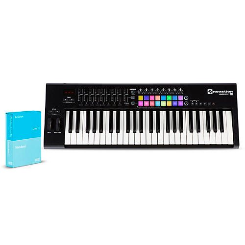 Novation Launchkey 49 with Ableton Live 10 Standard thumbnail