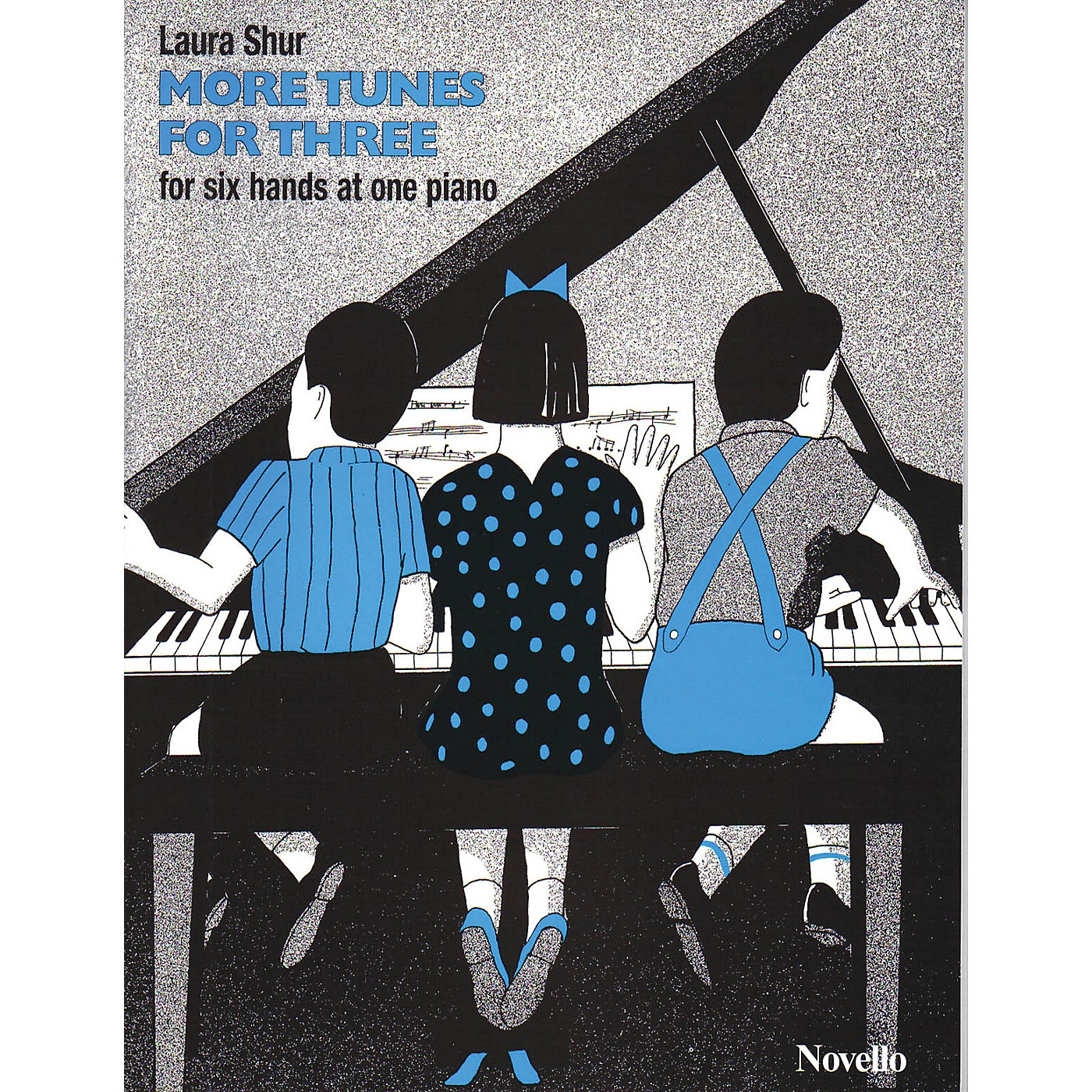 Music Sales Laura Shur: More Tunes For Three Music Sales America Series thumbnail