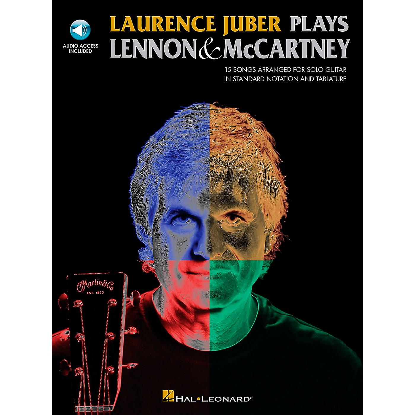 Hal Leonard Laurence Juber Plays Lennon & Mccartney (Book/CD) thumbnail
