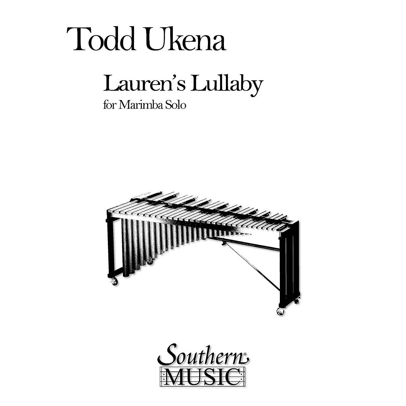 Hal Leonard Lauren's Lullaby (Percussion Music/Mallet/marimba/vibra) Southern Music Series Composed by Ukena, Todd thumbnail