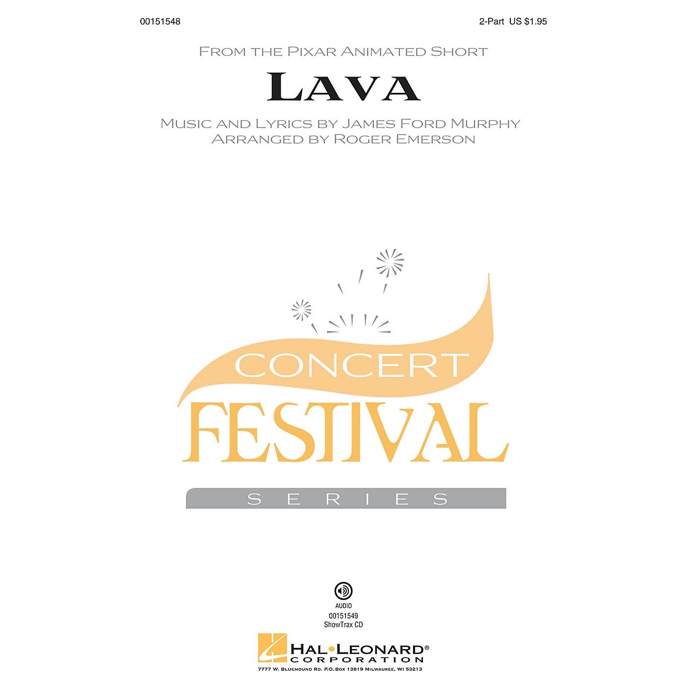 Hal Leonard Lava 2-Part arranged by Roger Emerson thumbnail