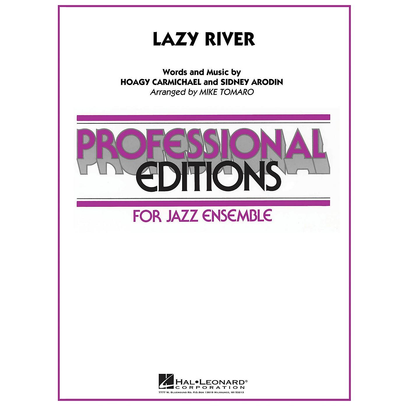 Hal Leonard Lazy River Jazz Band Level 5-6 Arranged by Mike Tomaro thumbnail