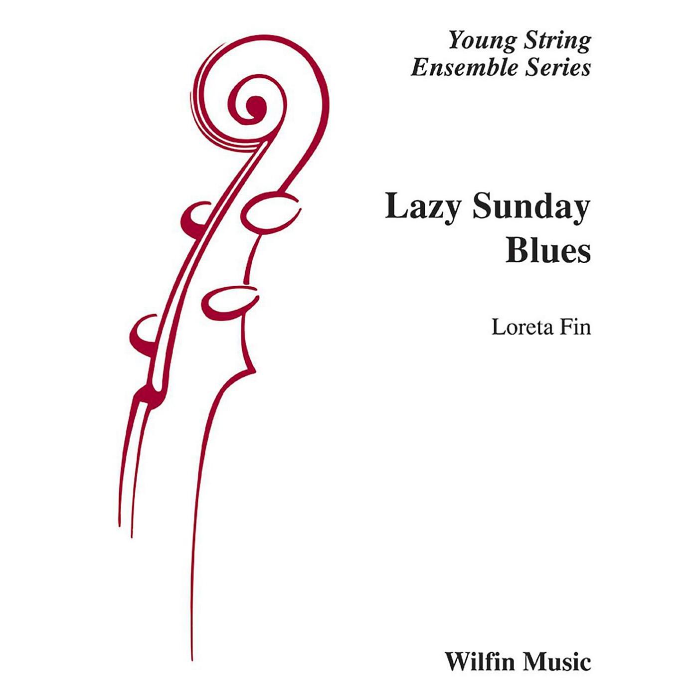 Alfred Lazy Sunday Blues String Orchestra Grade 2 Set thumbnail