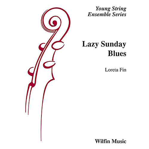 Alfred Lazy Sunday Blues String Orchestra Grade 2 Set thumbnail