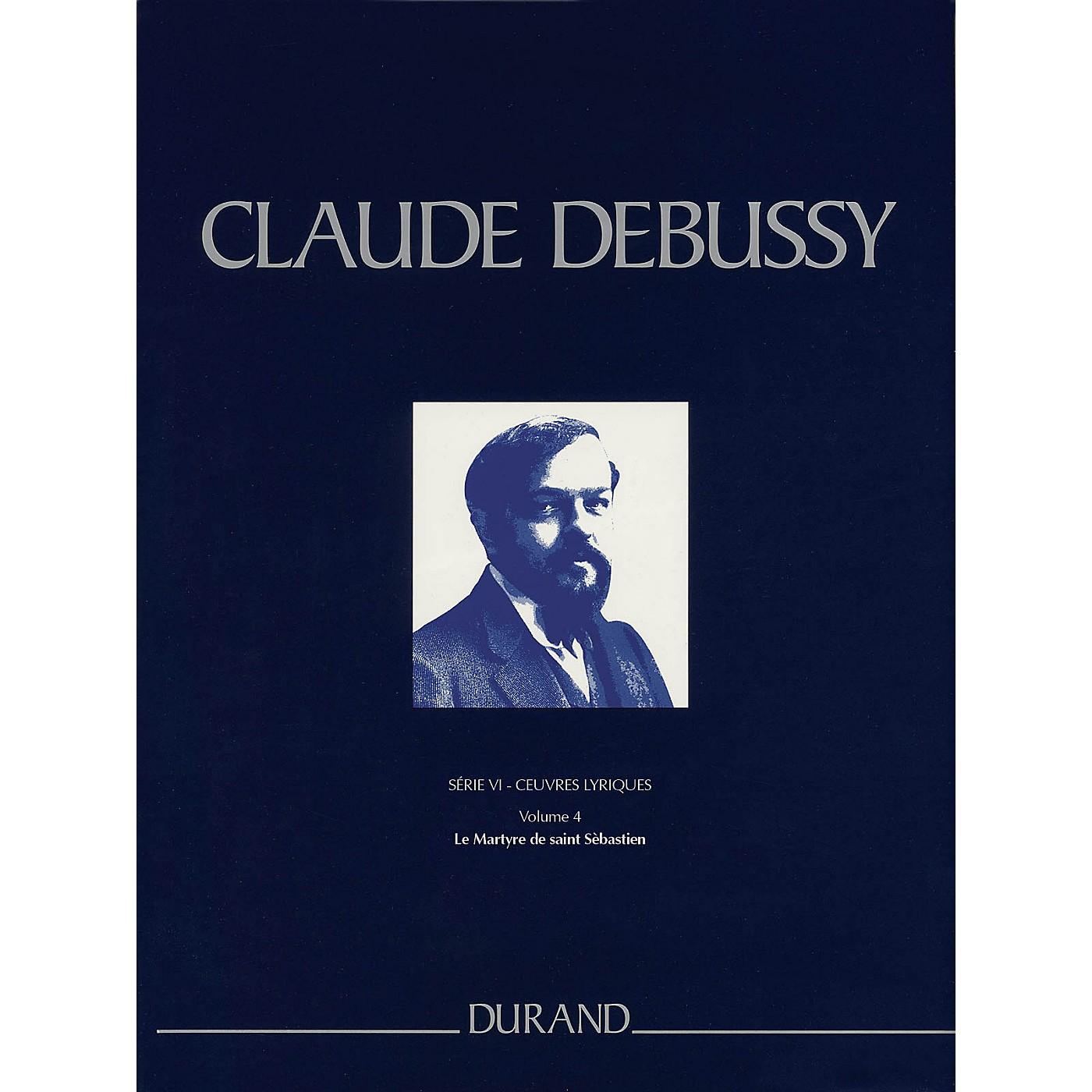 Editions Durand Le Martyre de saint Sébastien Critical Ed Full Sc, Hardbound by Debussy Edited by Boulez thumbnail