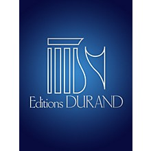 Editions Durand Le Travail du Peintre (Voice and Piano) Editions Durand Series Composed by Francis Poulenc