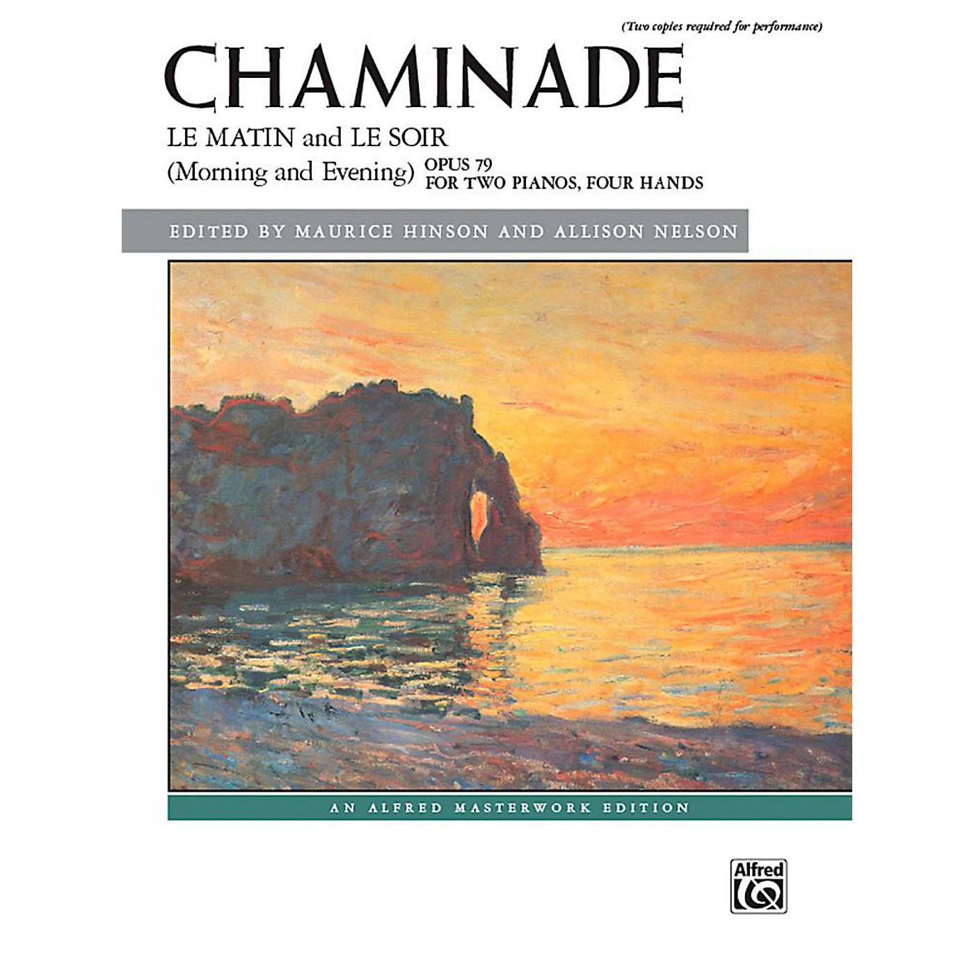 Alfred Le matin and Le soir (Morning and Evening), Op. 79 - Advanced Book (2 copies required) thumbnail