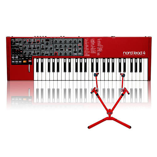 Nord Lead 4 with Matching 2-Tier Keyboard Stand thumbnail