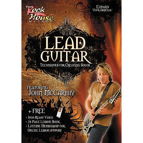 Rock House Lead Guitar-Techniques for Creating Solos, Featuring John McCarthy (DVD) thumbnail