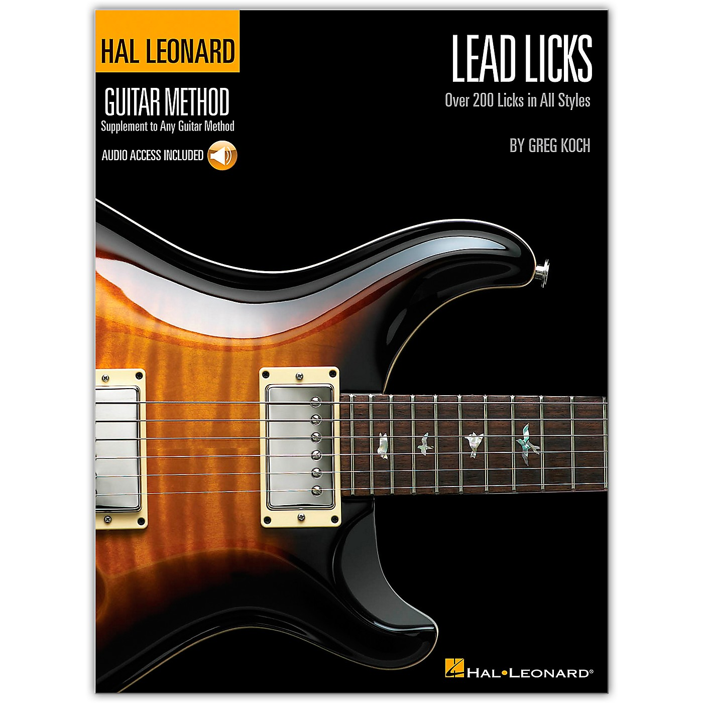 Hal Leonard Lead Licks (Book/Online Audio) thumbnail