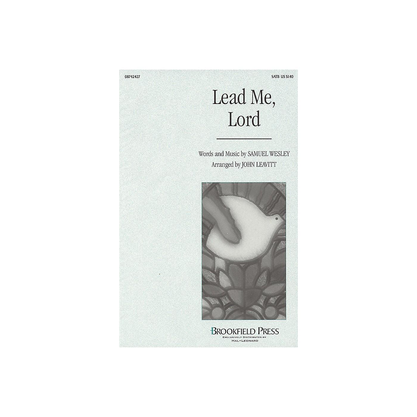Brookfield Lead Me, Lord SATB arranged by John Leavitt thumbnail