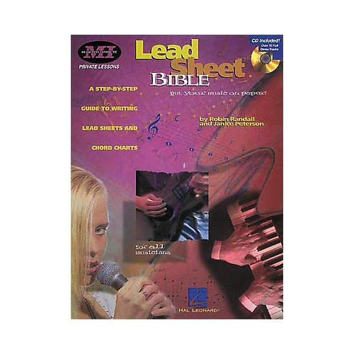 Hal Leonard Lead Sheet Bible Book/CD thumbnail