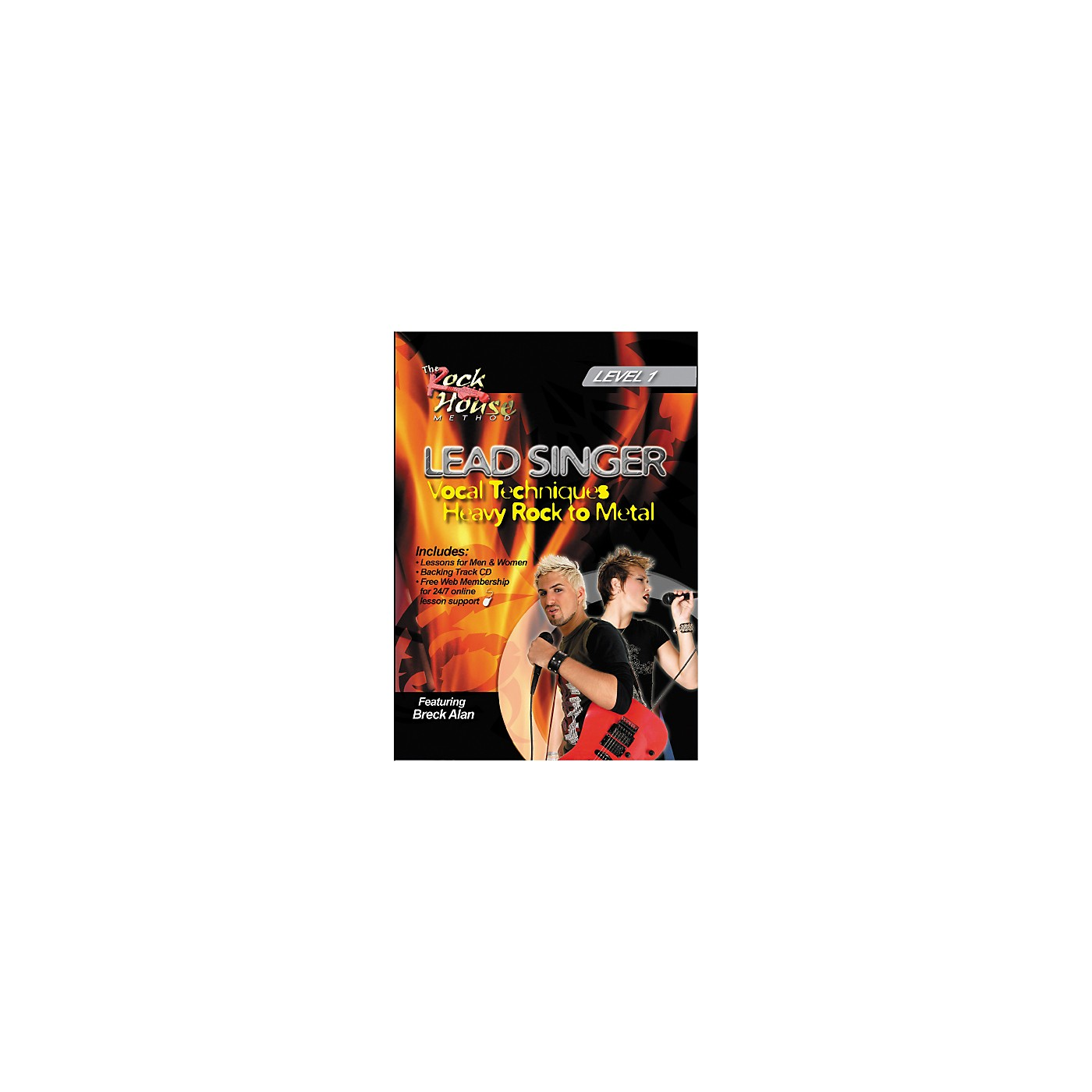 Hal Leonard Lead Singer Vocal Techniques From Heavy Rock to Metal DVD Level 1 thumbnail