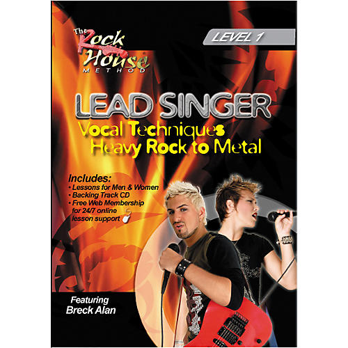 Hal Leonard Lead Singer Vocal Techniques From Heavy Rock to Metal DVD Level 1-thumbnail