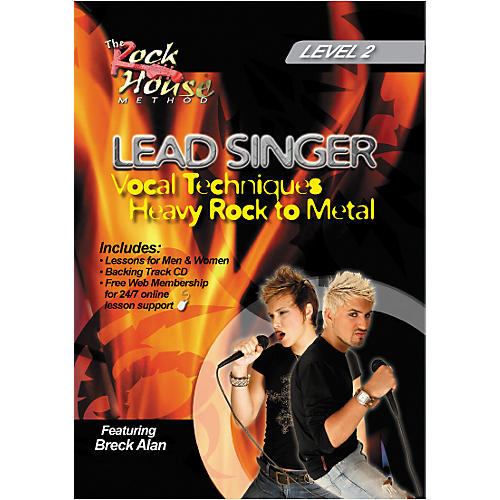 Hal Leonard Lead Singer Vocal Techniques From Heavy Rock to Metal DVD Level 2 thumbnail
