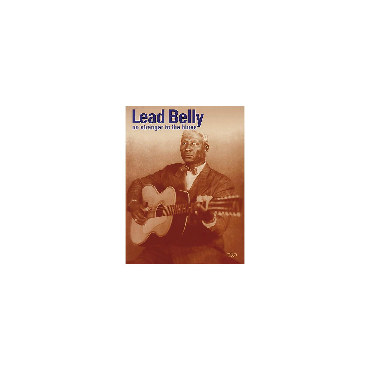 Richmond Organization Leadbelly No Stranger to the Blues Book thumbnail
