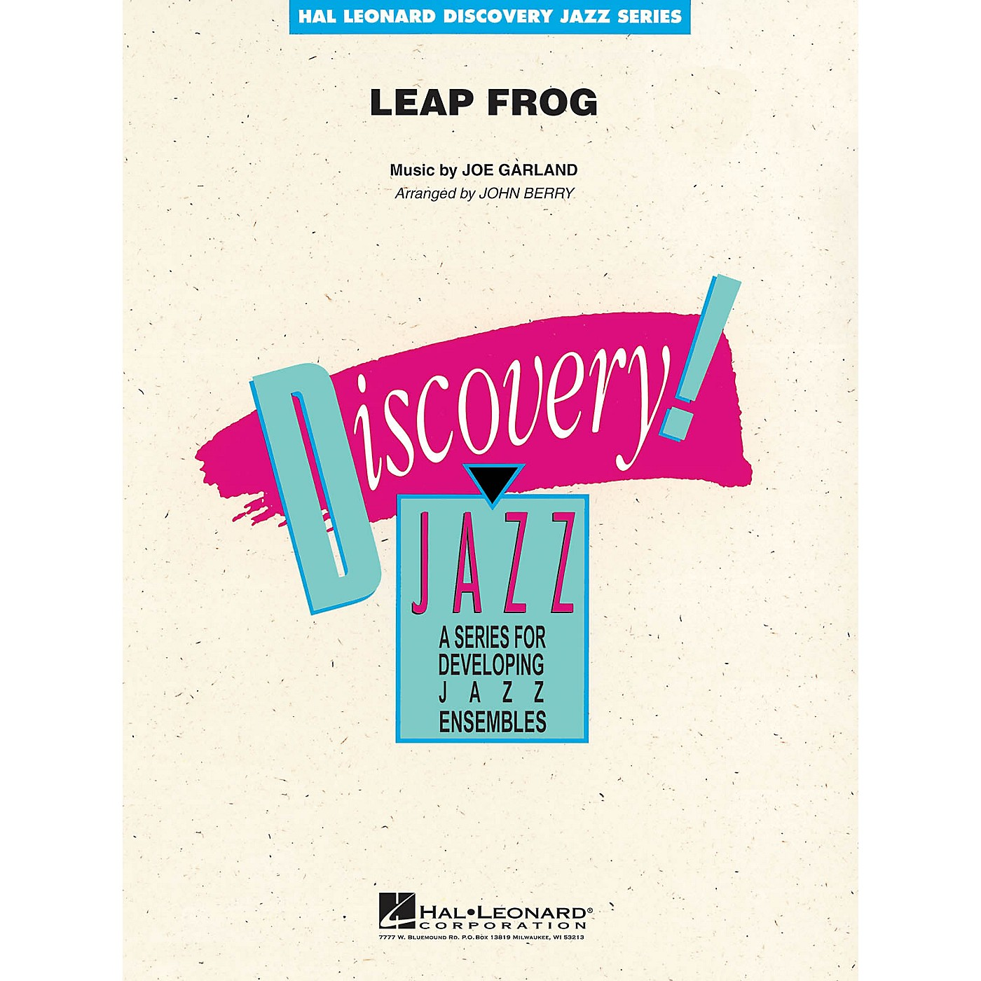 Hal Leonard Leap Frog Jazz Band Level 1.5 by Les Brown Arranged by John Berry thumbnail