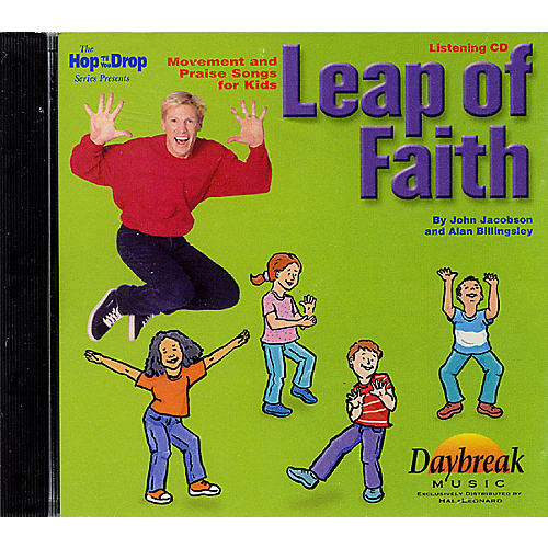 Hal Leonard Leap of Faith (Movement and Praise Songs for Kids) Listening CD composed by John Jacobson thumbnail