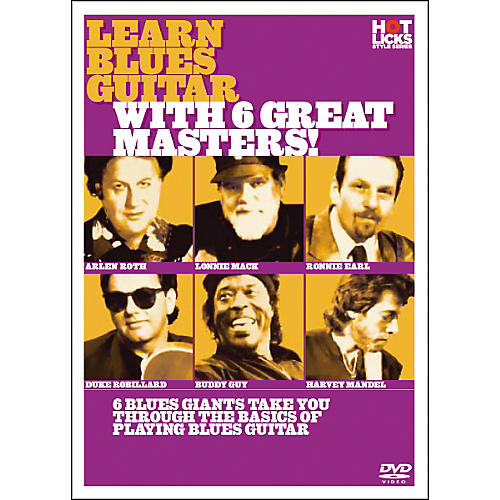 Hot Licks Learn Blues Guitar with 6 Great Masters DVD thumbnail