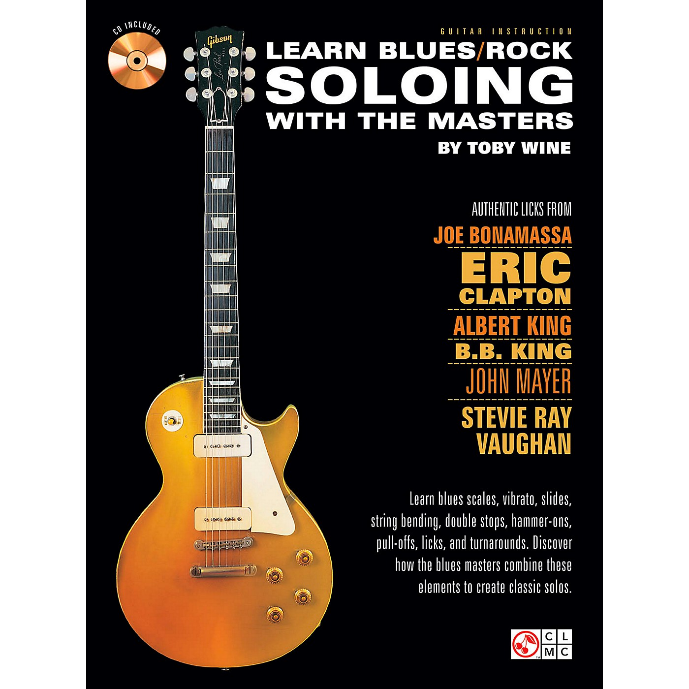 Cherry Lane Learn Blues/Rock Soloing With The Masters Book/CD thumbnail