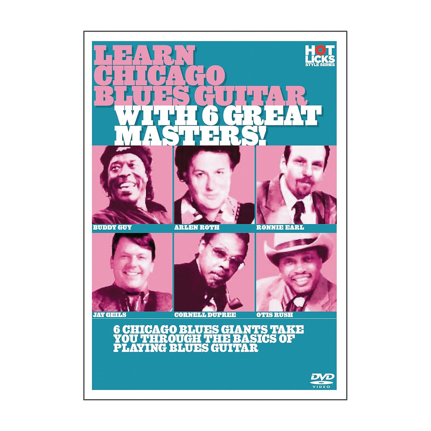 Hot Licks Learn Chicago Blues with 6 Great Masters DVD thumbnail