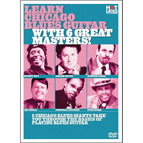 Hot Licks Learn Chicago Blues with 6 Great Masters DVD-thumbnail