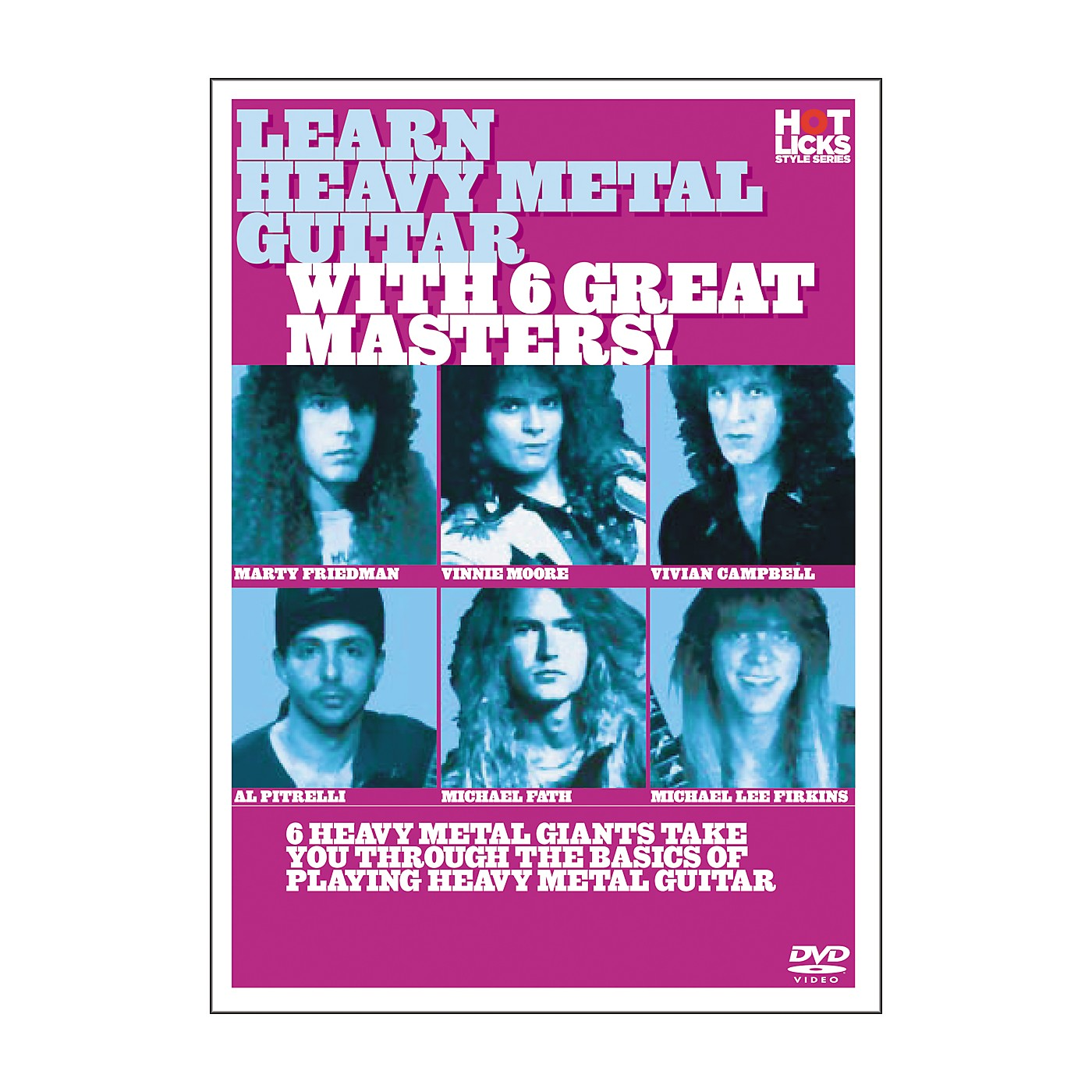 Hot Licks Learn Heavy Metal Guitar with 6 Great Masters DVD thumbnail