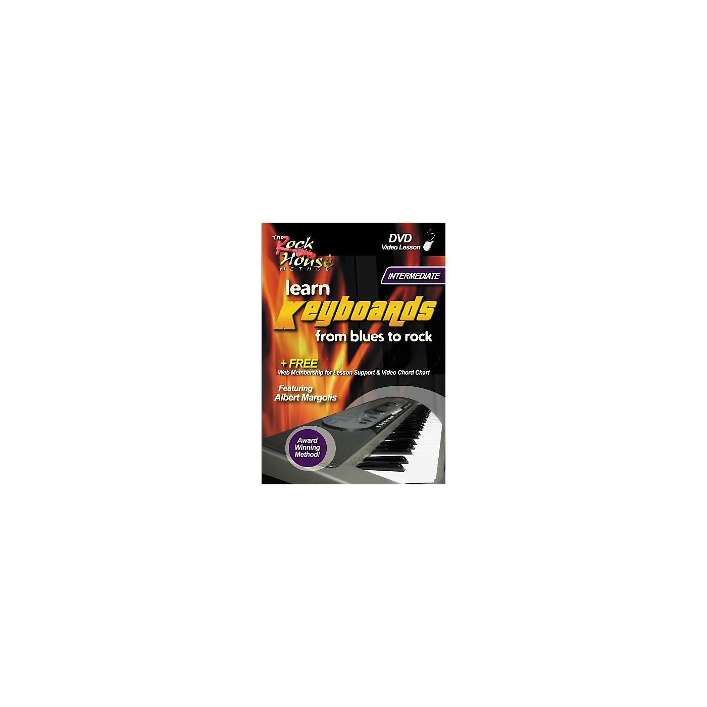 Hal Leonard Learn Keyboards From Blues to Rock Intermediate DVD thumbnail